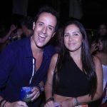 Kako Perroy e esposa Karina (Crédito: Fred Pontes)