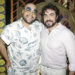 Thiago Abravanel e Padre Fabio de elo(Crédito: Fred Pontes)
