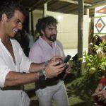 Alvaro, Padre Fabio de Melo e Lou Montenegro (Crédito: Fred Pontes)
