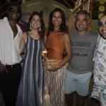 Toni Garrido, Roberta Sa , Carolina Cunha Guedes, Rogerio Saladino e Thiago Abravanel (Crédito: Fred Pontes)