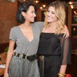 Alaphia e Francesca Monfrinatti armam jantar especial em SP