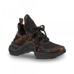 Louis-Vuitton-BlackMonogram-Canvas-Archlight-Sneakers