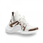 Louis-Vuitton-WhiteMonogram-Canvas-Archlight-Sneakers