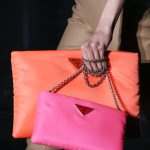 Prada-Neon-OrangePink-Clutch-and-Shoulder-Bags-Fall-2018 (1)