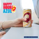 Azul inova e inclui cerveja de graça no Happy Hour
