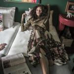 Luiza Ortiz garimpa novas peças Loop Vintage