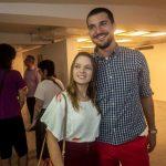 Aline Maia e Marcelo Bruzzi