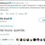 Netflix desmente filho de Jair Bolsonaro sobre série