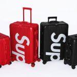Supreme e RIMOWA apresentam coleção de bagagens