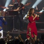 Ivete Sangalo faz show com Gilberto Gil em inauguração de espaço no Allianz Parque