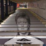 David Bowie invade metrô de Nova York