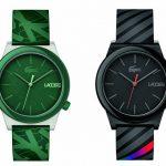 Lacoste lança sua nova coleção de relógios