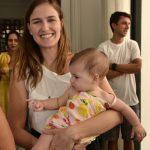 Antonia Bergamim e filha