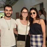 Vinicius Foz, Talita Colin e Ananda Nunes
