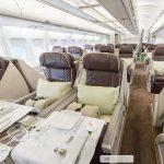 O interior luxuoso do avião que levou a seleção brasileira à Europa