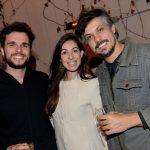 Rodrigo Borges, Usha Araujo e Wagner Andrade