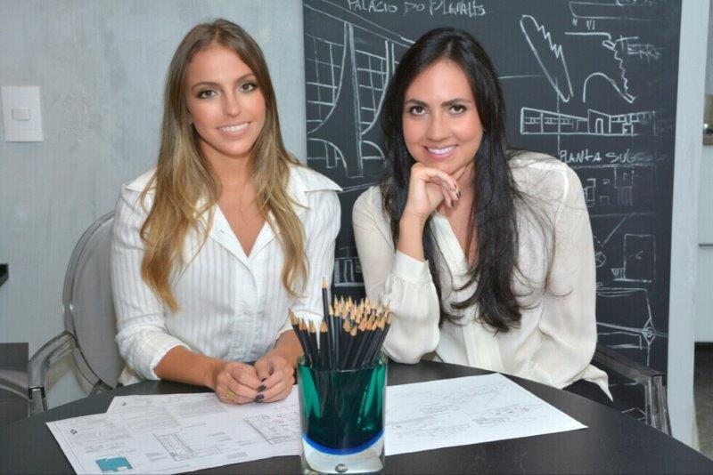 Barbara Gomes e Giulliana Savioli