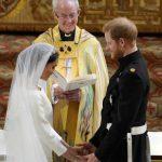 Meghan Markle se casa com vestido da estilista Clare Waight Keller, da Givenchy