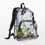 Leve seu peixinho para passear dentro da sua mochila