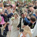 Atores de GOT se reúnem em casamento de Kit Harington e Rose Leslie