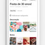 Pinterest lança recursos de colaboração para planejamento de festas com familiares e amigos
