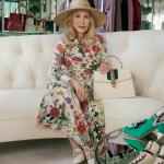 Aos 77 anos, atriz Faye Dunaway protagoniza campanha da Gucci