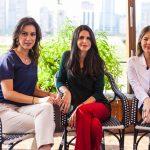 Julie Montgomery, Fabiana Saad e Sofia Patsch