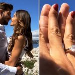Izabel Goulart e Kevin Trapp anunciam noivado
