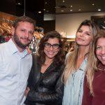 Leo Caserta, Monica Souza, Claudia Jatahy e Vanessinha Borges