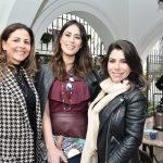 Luciana Villas Boas, Bianca Andrade e Stefania Brito