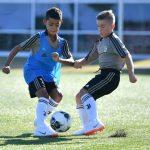 Cristiano Ronaldo Junior já treina com o sub-9 da Juventus