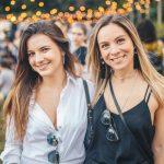 Isabella Brandalize e Camila Fischmann