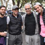 Athur, Fernando, Sidnei e Marco Epelman