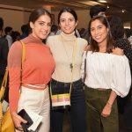 Camila Yunes Guarita, Isabela Helcias e Charlotte Dupasquier
