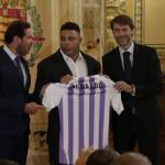 Ronaldo compra clube espanhol Real Valladolid
