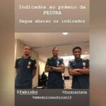 Neymar faz concurso de feiura com jogadores da seleção
