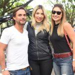 Fabio Wright, Babi Conte e Melissa Tramonte