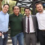 Saulo Chaves, Paulo Junqueira, Leticia Mattos, Daniel Lotufo e Gustavo Maykot