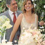 William Bonner e Natasha Dantas se casam em São Paulo