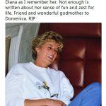 Amiga de Diana revela fotografia inédita da princesa