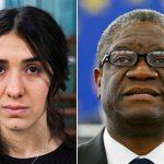 Nobel da Paz 2018 vai para ativistas que lutam contra violência sexual como arma de guerra