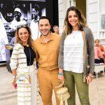 Aline Borges, Vinicius Belo e Thais Sophia