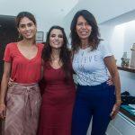 Ester Rocha, Alessandra Cozzi e Pupe Ribeiro Lima