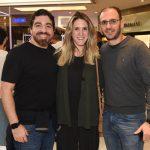 Alexandre Biacamano, Mayra Miranda e Rodrigo Rissato