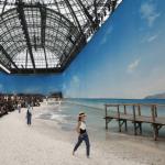 A praia da Chanel