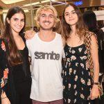 Danielle Gregori, Raquel Gregorio e Leo Bacci