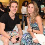 Gabriel Camareiro e Giovanna Pascaretti
