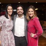 Renata Zitune, Alexandre Biancamano e Marina Cirelli