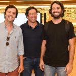Ricardo Fleury, Iquinho Facchini E Emiliano Beyruthe