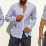 """The Zip Fit Shirt"" acabe com o problema do botão da camisa ""explodindo"""